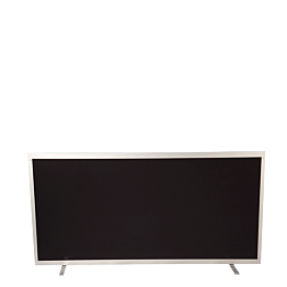 Trennwand horizontal Aluminium L 201 H 102 cm