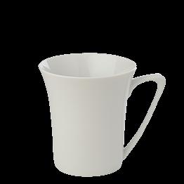 Porzellan Tasse weiss 29 cl