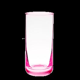 Longdrinkglas rosa fluoreszierend 32 cl
