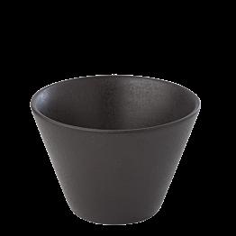 Kaffee-Teetasse schwarz 20 cl
