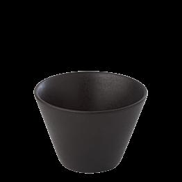 Espressotasse schwarz 8 cl