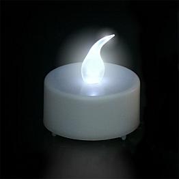 Weisse LED-Kerze Ø 3,8 cm
