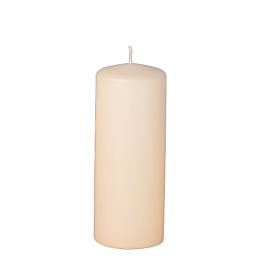 Kerze Zylinder Elfenbein H 15 cm Ø 6 cm