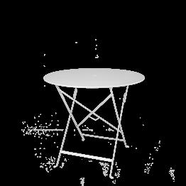 Tisch Trocadero rund Weiss Ø 77 cm