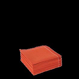 Stoffservietten 2-faltig ziegelrot 20 x 20 cm (30 Stück)