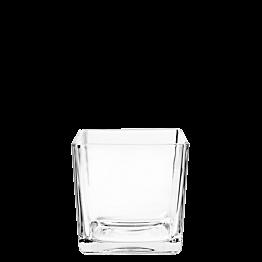 Glas Cube 6 x 6 cm 6 cl