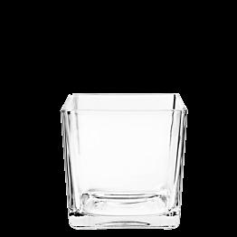 Glas Cube 8 x 8 cm 26 cl