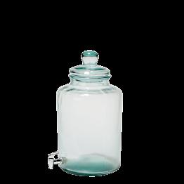Vintage Glasflasche Ø 25 cm H 45 cm 12,5 L