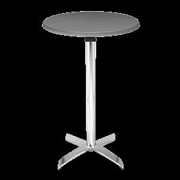 Stehtisch Stahl rund H 111 cm Ø 60 cm