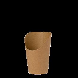 Papier Pommestüten H 10,5 cm (150g  pommes) (50 Stück)