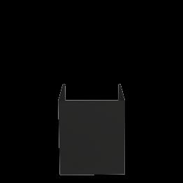 Abdeckung schwarz für Lichtspots 27 x 28 x 29 cm