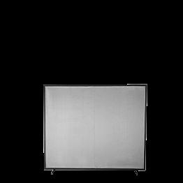 Trennwand grau 260 x 305 cm
