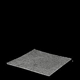 M²  Teppichfliese hell- und dunkelgrau mit Verlegung