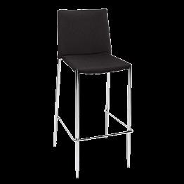 Barstuhl schwarz H 111 L 43 B 52 cm