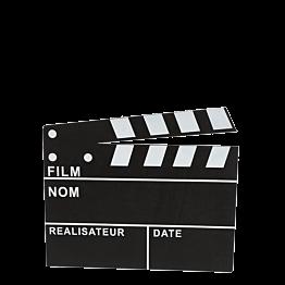 Filmklappe 30 x 26 cm