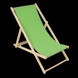 Liegestuhl grün L 94 cm