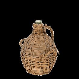 Vintage Glasflasche Eau de Vie Ø 21 cm H 28 cm