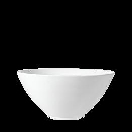 Salatschüssel Kunstharz weiss Ø 28 cm H 15,5 cm 380 cl