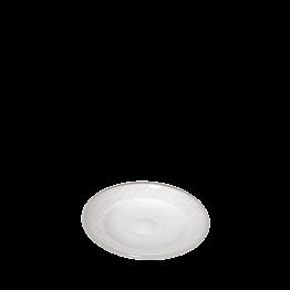 Brotteller Glas weiss Ø 14 cm