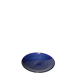 Brotteller Glas blau Ø 14cm