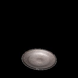 Brotteller Glas Taupe Ø 14cm