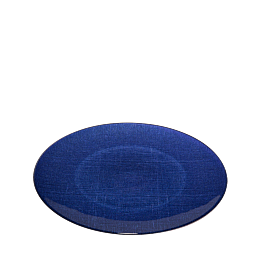 Platzteller Glas blau Ø 32 cm