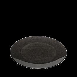 Platzteller Glas schwarz Ø 32 cm