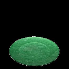 Platzteller Glas grün Ø 32 cm