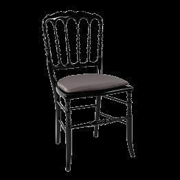 Stuhl Napoleon III schwarz Toscana bronze