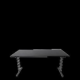 Seminartisch schwarz 80 x 160 cm
