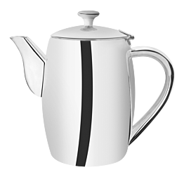 Kaffeekanne Neptun silber 100 cl