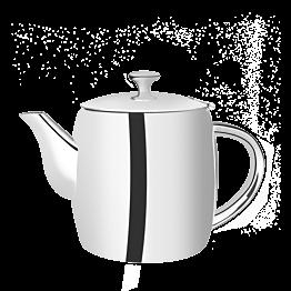Teekanne Neptun Silber 100 cl