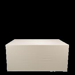 Buffet klappbar, mit Tischwäsche bespannt 100 x 200cm