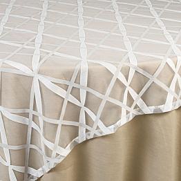 Tischläufer Bändermotiv 50 x 390 cm