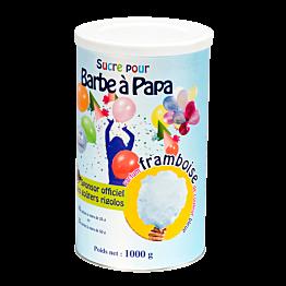 Blauer Zucker für Zuckerwatte Himbeeraroma 1 kg