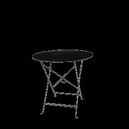 Tisch Trocadero rund Schwarz Ø 77cm