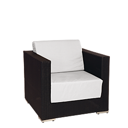 Lounge Sessel grau 80 x 80 x 67cm