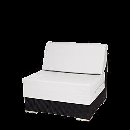 Lounge Mittelstück Grau 80 x 80 x 67cm