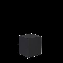 Sitzkissen viereckig Vinyl schwarz 40 x 40cm H 40 cm