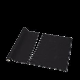 Tischset/Serviette aus Einwegstoff schwarz 32 x 48cm (12)