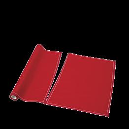 Tischset / Serviette aus Einweg Stoff rot 32 x 48cm (12er Rolle)