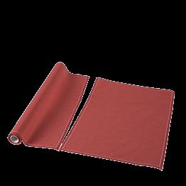 Tischset / Serviette aus Einwegstoff ziegelrot 32 x 48cm (12)