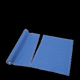 Tischset / Serviette aus Einwegstoff blau 32 x 48cm (12)