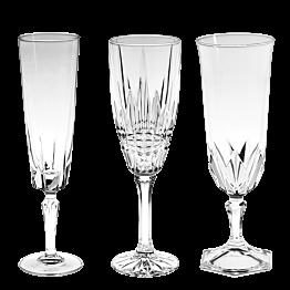 Champagnerglas Vintage kristall