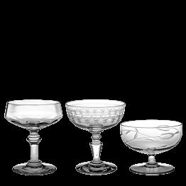 Sektglas Vintage kristall