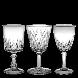 Wasserglas Vintage kristall