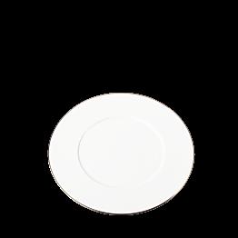 Lunchteller Plane gold Zierstreifen Ø 23 cm