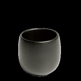 Schale Ato schwarz Ø 6,5 cm H 7,5 cm 18 cl