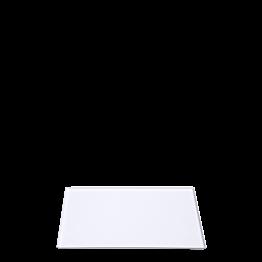 Tablett Soft weiss 30 x 40 cm