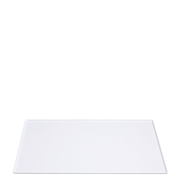 Tablett Soft weiss 40 x 60 cm